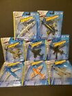 Maisto Tailwinds 187 Diecast Airplane Helicopter Lot Of 8 NIP
