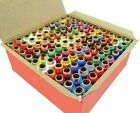 Assorted Color Polyester Thread Spool Spun Sewing Supplies Quilting 100 Pcs Set