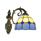 Retro Stained Glass Wall Sconce 1 Light Tiffany Style Wall Light Fixture Indoor