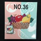 Fruits  Vegetables Embroidery Designs Card 36 Bernina Deco Brother Baby Lock