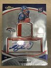 2010 Topps Finest TIM TEBOW Rookie Card RC #100 Jersey 2 Color Patch Auto 100