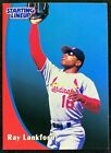 1998 Starting Lineup Cards Ray Lankford #16 St Louis Cardinals