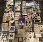 Stampin Up Lot Of 275+ Stamps Rubber Stamp Collection Most Unused Condition