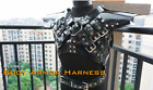 Custom Made to Measure Male Latex Rubber Body Armour Harness
