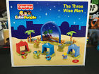 Fisher Price Little People Nativity Three Wise Men Set Complete N6011 12 Pcs