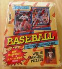 1991 Donruss Baseball Puzzle and Cards Series 1 Factory Sealed box 36 + 9 Packs