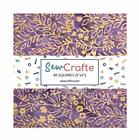 Print Cotton Charm Pack Fabric 100 Different Pattern Batik for Quilting Sewi