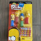 Simpsons Pez Candy Dispensers Party Favors Homer Bart Lisa Marge 2004 TARA Toy