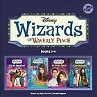 Wizards of Waverly Place  Library Edition CD Spoken Word by Disney Publishi