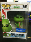 Funko Pop! Dr Seuss The Grinch # 663 with Scarf Walmart Exclusive W PROTECTOR