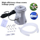 NEW 300 GPH Above Electric Ground Swimming Pool Cartridge Filter Pump Cleaning