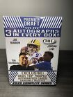 2020 Sage Hit Premier Draft High Series Blaster Box 3 Autographs in every box