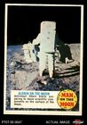 1969 Topps Man on the Moon Trading Cards 14
