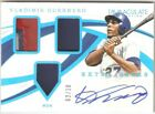 Vladimir Guerrero 2019 Panini Immaculate Collection AUTO Autograph PATCH 02 10