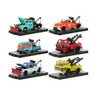 Auto Tow Trucks 6 piece Set Release 52 IN DISPLAY CASES 1 64 Diecast Model Ca