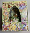 Spring Easter Egg Snow Globe Rabbit Bunny Peter Cottontail