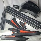 Lot of 43 1970 Vintage Hot Wheels Hotline Track and Accessories Black Mattel Toy