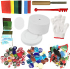 Microwave Kiln and DIY Fusing Glass Jewelry Set Professional Simple Making DIY