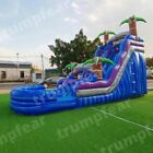 23x10x16 Ft PVC vinyl Commercial Inflatable Water Slide pool With Air Blower kit