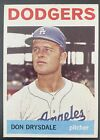 Don Drysdale Cards and Autographed Memorabilia Guide 20