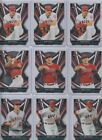Lot of 9 Mike Trout 2021 Topps Finest Careers Die Cut s