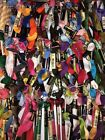 HUGE LOT Over 100 Embroidery Thread Floss Skeins Most DMC Craft Cross Stitch