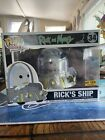 Funko Pop Rick and Morty Rick's Ship Hot Topic Exclusive