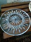 Vintage WATERFORD CRYSTAL LISMORE 12 1 2 CAKE PLATE TRAY excellent
