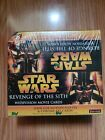 Star Wars Revenge of the Sith Widevision Movie Cards Factory Box Topps READ