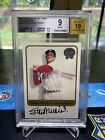 2001 Greats Of The Game Stan Musial 525 SP BGS 9 Pristine Auto Cardinals 🔥