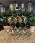 Beauty And The Beast Hand Painted Wine Glass Collection