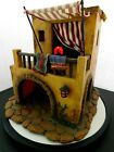 Fontanini Italy Retired 5 THE HOME 2000 Lighted Nativity Village Bldg 50523