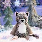 Limited Edition Scentsy Buddy Samson The Snow Leopard With Out Scent Pak
