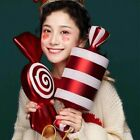 Christmas Candy Cane Xmas Tree Large Ornament Party Home Decoration Gift 42cm