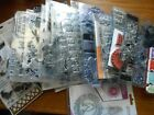 Huge Lot of 47 VARITY Clear Cling Acrylic Rubber Stamp SETS ALL PICTURED
