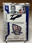 2010-11 Playoff Contenders Patches Ticket Derrick Favors #103 Rookie Auto