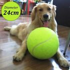 24cm Rubber Kelly Big Giant Pet Dog Puppy Jumbo Tennis Ball Thrower Play Toy