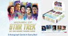 2021 Women of Star Trek Art and Images Factory Sealed Box w 3 Autographs & Promo