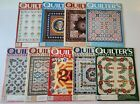 9 Issues Quilters Newsletter Magazine 1989