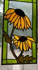 stained glass window new 161 2 x 8 1 2 original design hand crafted