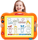 Magnetic Drawing Board Toddler Toys for Boys Girls 17 Inch Magna Erasable board