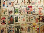 Lot of 100 Sewing Patterns Simplicity McCalls Burda Boys and Girls See Pictures