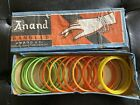 Vintage Box full of Anand GLASS BANGLES BRACELET Colorful Beautiful