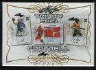 IN STOCK 2021 Leaf Trinity Football Factory Sealed Hobby Box with 5 Autographs