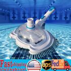 Swimming Pool Vacuum Brush Head Suction Cleaner Cleaning Tool W Filter Screen