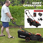 40V 16 Inch Cordless Twin Force Lawn Mower W 2x4Ah Batteries+Charger Include 35L
