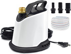 AgiiMan Pool Cover Pump 1100 GPH Submersible Water Pump for Pool Draining with
