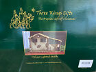 Christmas Nativity Lighted Stable Manger New Unused Three Kings Gifts