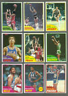 1981-82 Topps Basketball near set 101 DIFFERENT CARDS WITH SOME STARS VENDING !