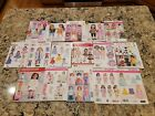 Lot 16 18 Doll Clothes Sewing Patterns Simplicity McCalls Butterick uncut